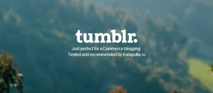 Tumbler for eCommerce Blogging